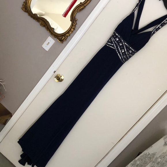 Deb Dresses & Skirts - Deb Navy Prom Gown